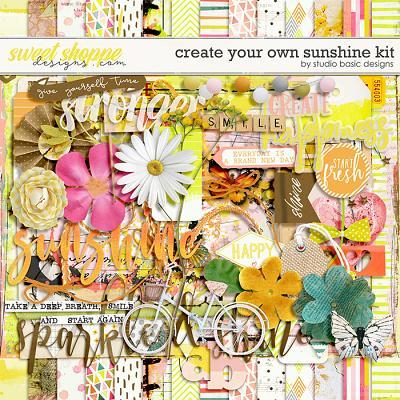 Create Your Own Sunshine Kit by Studio Basic