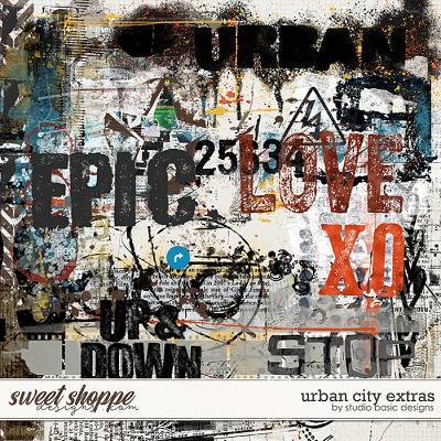 Urban City Extras by Studio Basic