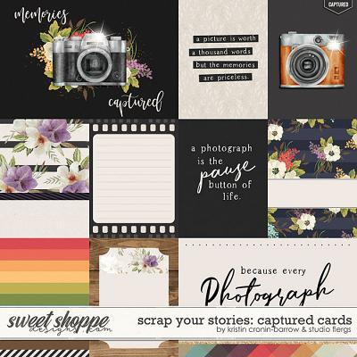 Scrap Your Stories: Captured- CARDS by Studio Flergs & Kristin Cronin-Barrow