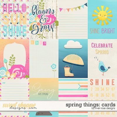 Spring Things: Cards by River Rose Designs