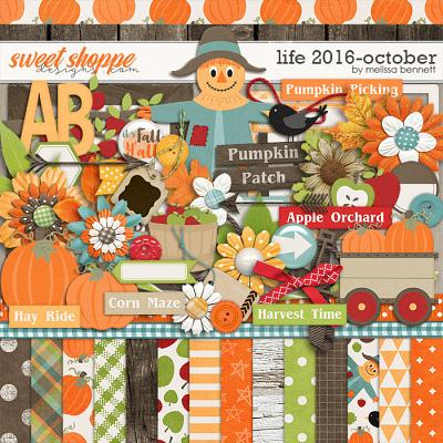 Life 2016-October by Melissa Bennett