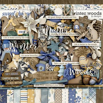 Winter Woods by LJS Designs
