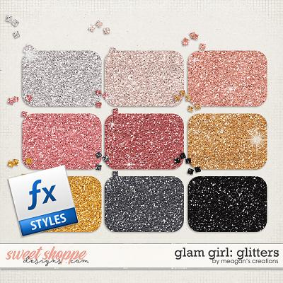 Glam Girl: Glitters by Meagan's Creations