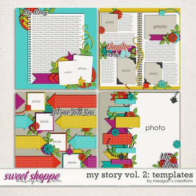 My Story Vol. 2 : Templates by Meagan's Creations