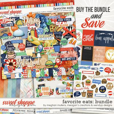 Favorite eats - Bundle by Meghan Mullens, Meagan's Creations & WendyP Designs
