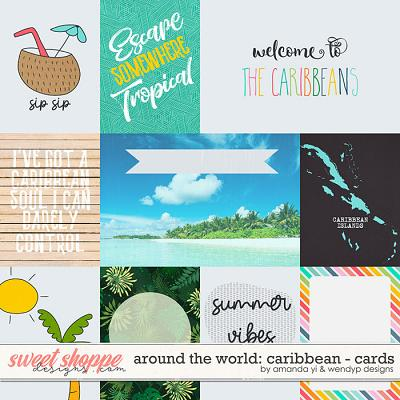 Around the world: Caribbean - cards by Amanda Yi & WendyP Designs
