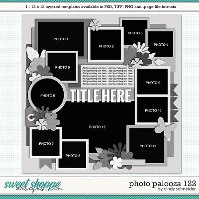 Cindy's Layered Templates - Photo Palooza 122 by Cindy Schneider