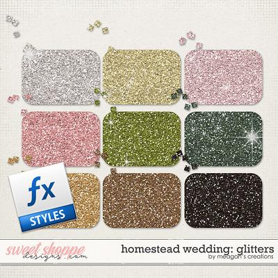 Homestead Wedding: Glitters by Meagan's Creations