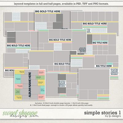 Simple Stories 1 by LJS Designs