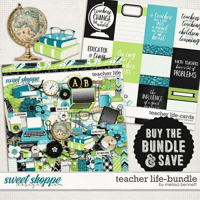 Teacher Life-Bundle by Melissa Bennett