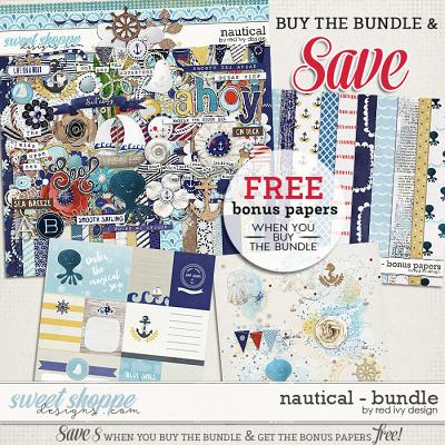 Nautical - Bundle by Red Ivy Design