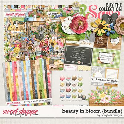 Beauty in Bloom Bundle by Ponytails