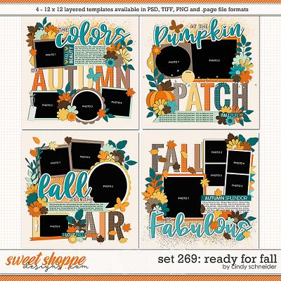 Cindy's Layered Templates - Set 269: Ready for Fall by Cindy Schneider