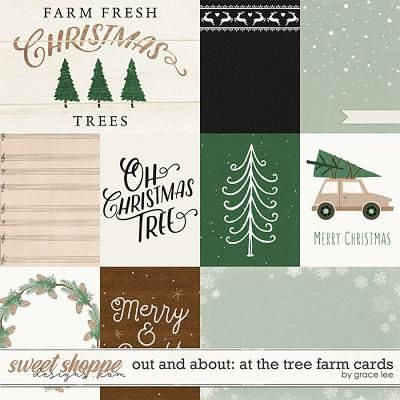 Out and About: At The Tree Farm Cards by Grace Lee