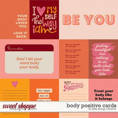 Body Positive Cards by Kelly Bangs Creative