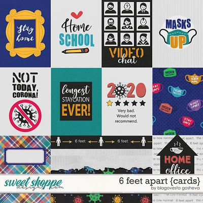 6 Feet Apart {cards} by Blagovesta Gosheva