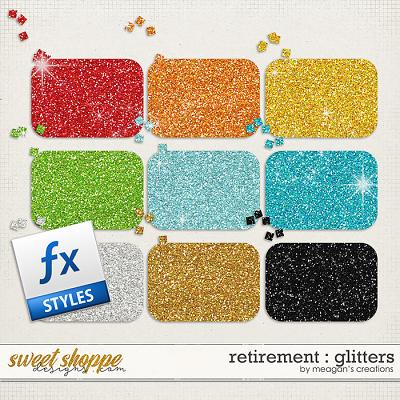 Retirement : Glitters by Meagan's Creations