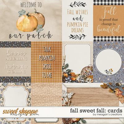 Fall Sweet Fall: Cards by Meagan's Creations