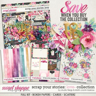 Scrap Your Stories: LOVE- Collection by Studio Flergs & Kristin Cronin-Barrow