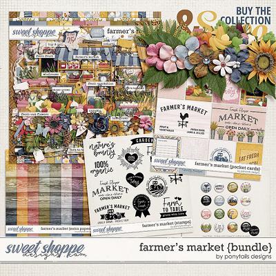 Farmer's Market Bundle by Ponytails