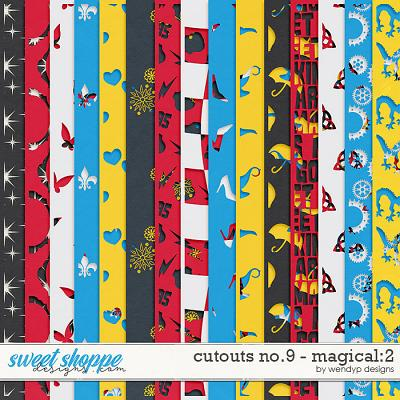 Cutouts No.9 - Magical:2 by WendyP Designs