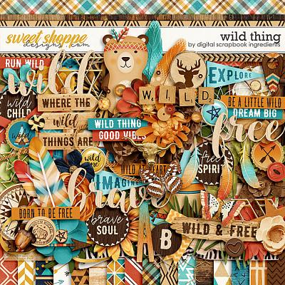 Wild Thing by Digital Scrapbook Ingredients
