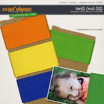 Twill {Vol 02} by Christine Mortimer