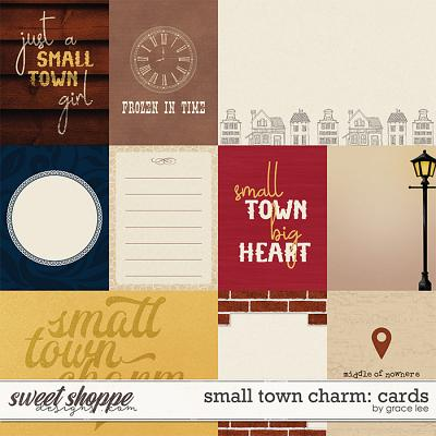 Small Town Charm: Cards by Grace Lee