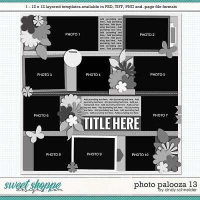 Cindy's Layered Templates - Photo Palooza 13 by Cindy Schneider