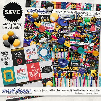 Happy {socially distanced} Birthday: Bundle by Blagovesta Gosheva