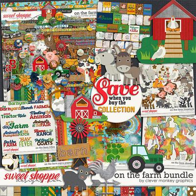 On the Farm bundle by Clever Monkey Graphics