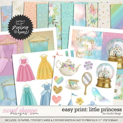Remember the Magic: LITTLE PRINCESS- EZ PRINT by Studio Flergs