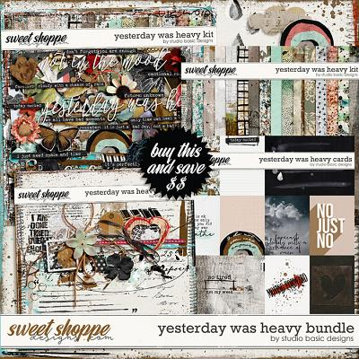Yesterday Was Heavy Bundle by Studio Basic