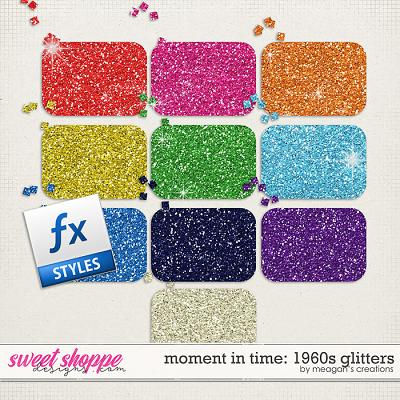 Moment in Time: 1960s Glitters by Meagan's Creations