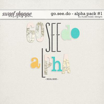 Go.See.Do Alpha Pack #1 by Studio Basic