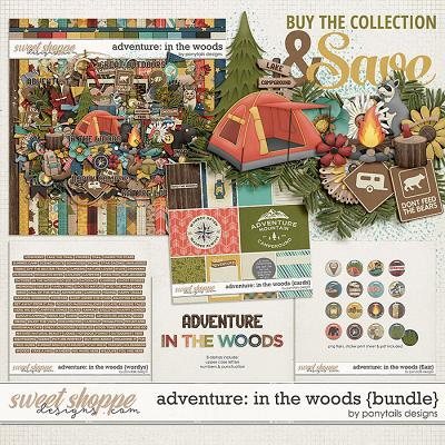 Adventure: In the Woods Bundle by Ponytails