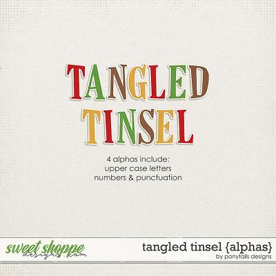 Tangled Tinsel Alphas by Ponytails