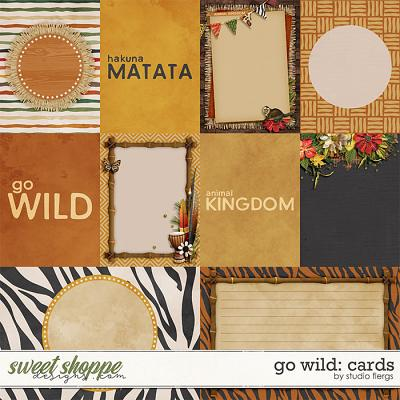 Go Wild: CARDS by Studio Flergs