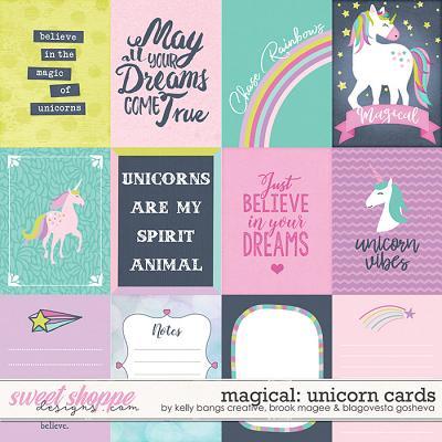 Magical: Unicorns - Cards by Kelly Bangs Creative, Brook Magee & Blagovesta Gosheva