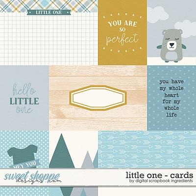 Little One | Cards by Digital Scrapbook Ingredients