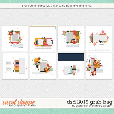 iDSD 2019 Template Grab Bag by Crystal Livesay and Sara Gleason