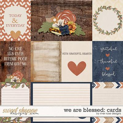 We are Blessed: Cards by River Rose Designs
