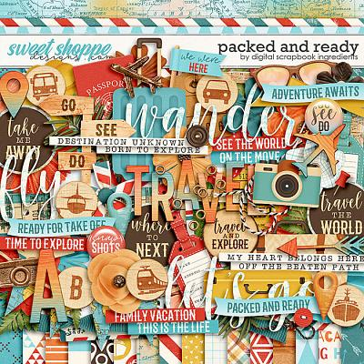 Packed And Ready by Digital Scrapbook Ingredients