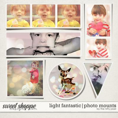 LIGHT FANTASTIC | PHOTO MOUNTS by The Nifty Pixel