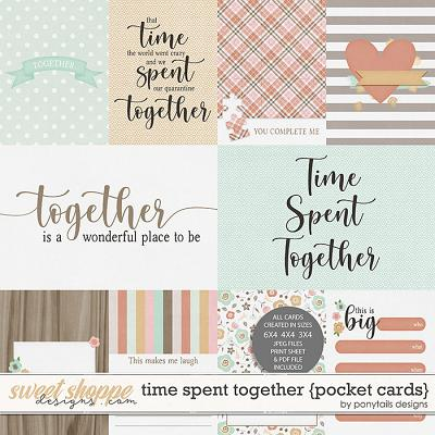 Time Spent Together Pocket Cards by Ponytails