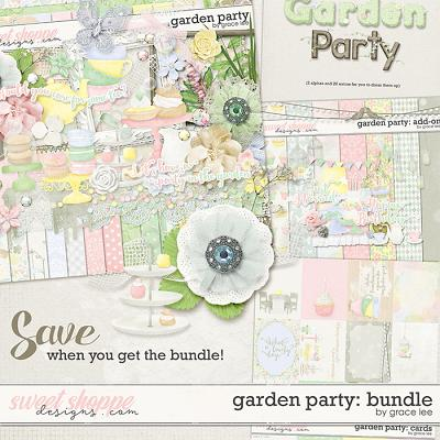 Garden Party: Bundle by Grace Lee