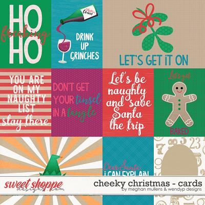 Cheeky Christmas-Cards by WendyP Designs & Meghan Mullens