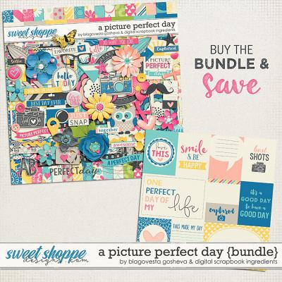 A Picture Perfect Day Bundle by Blagovesta Gosheva & Digital Scrapbook Ingredients