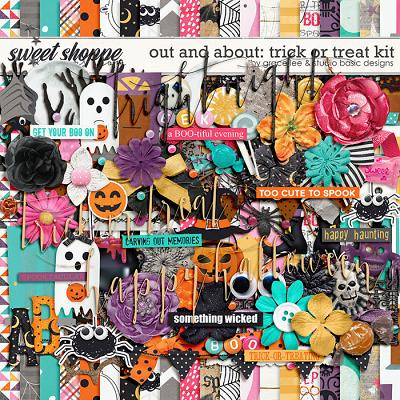 Out and About: Trick or Treat by Grace Lee and Studio Basic Designs