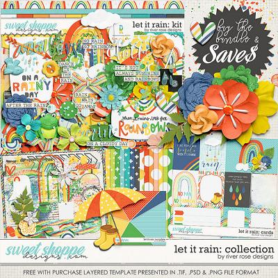 Let it Rain: Collection + FWP by River Rose Designs